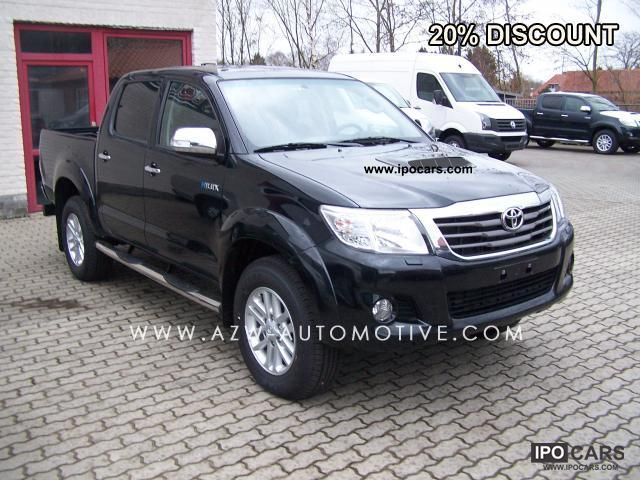 2011 Toyota  3.0 D-4D Double Cab 5 A / D SRX 2012 Executive Off-road Vehicle/Pickup Truck New vehicle photo