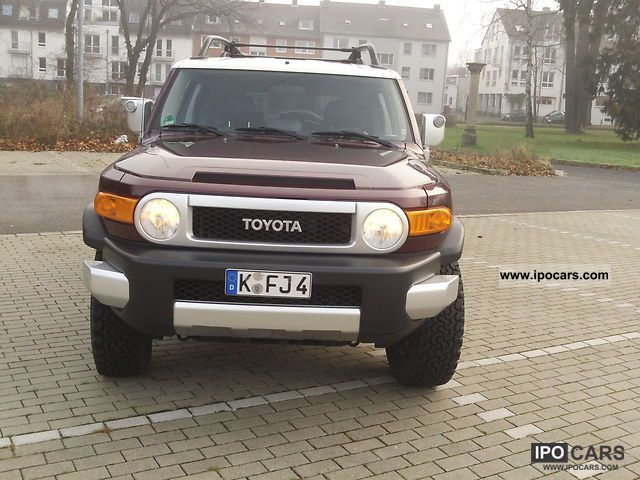 2007 Toyota  FJ LPG car gas system Off-road Vehicle/Pickup Truck Used vehicle photo
