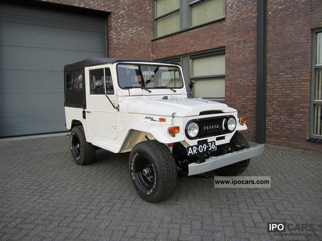 1983 Toyota  LANDCRUISER FJ 40 3860 CC 91 KW Bouwjaar 1971 Other Used vehicle photo