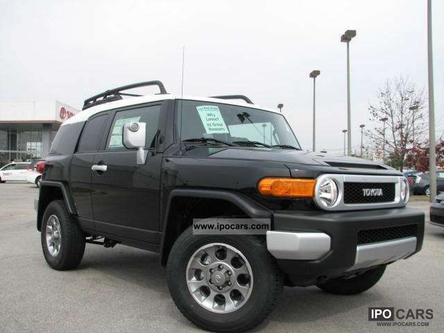 2011 Toyota  FJ Cruiser 4x4 Off-road Vehicle/Pickup Truck New vehicle 			(business photo