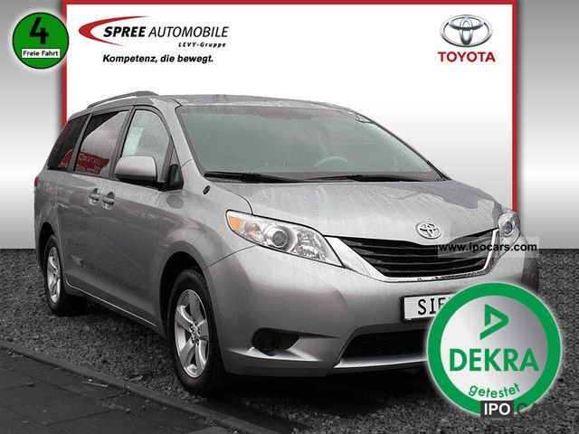 2012 Toyota  Sienna 7.2 LEATHER CLIMATE CONTROL Van / Minibus Used vehicle photo