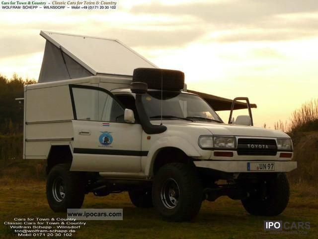 Toyota Hdj Maltec Expedition Vehicle Condition Lgw on 1991 Toyota Pickup Engine
