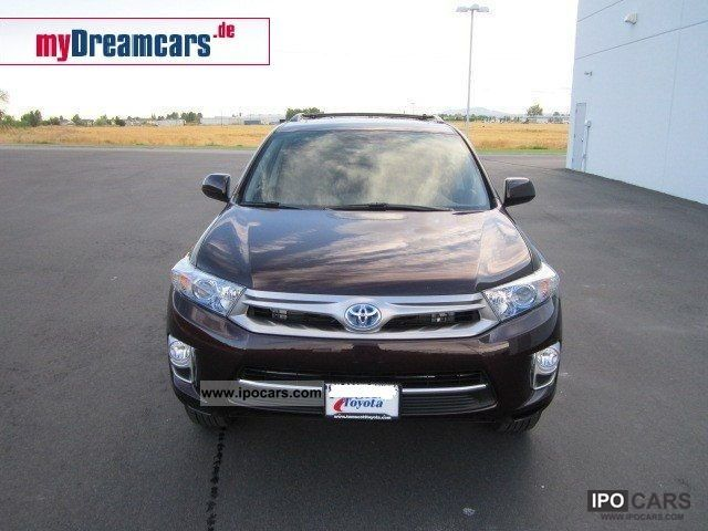 Toyota  Highlander Hybrid 4WD 3.5 V6-T1 BRHV $ 49,900 2012 Hybrid Cars photo