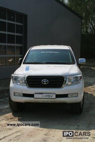 2011 Toyota LC200 VR6 certified armored tank * DIESEL