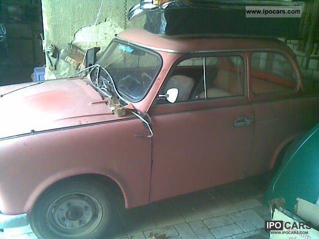 1963 trabant 500 p60 p50 car photo and specs. Black Bedroom Furniture Sets. Home Design Ideas