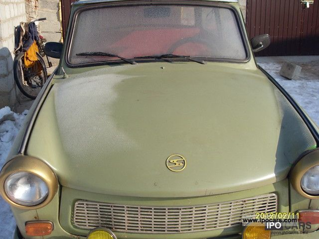 Trabant  601 1976r 1976 Vintage, Classic and Old Cars photo