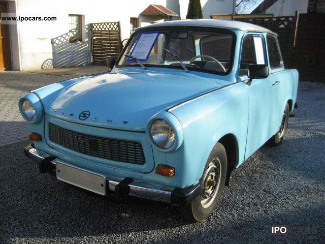 Trabant  601 *** original GDR letter / good condition / APC *** 1965 Vintage, Classic and Old Cars photo