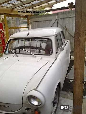 Trabant  Other 1961 Vintage, Classic and Old Cars photo