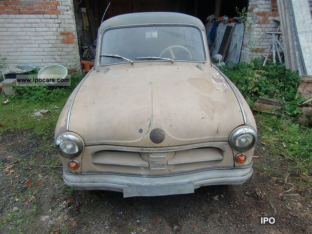 Trabant  P 70 COMBINATION TO RESTORE ... 1957 Vintage, Classic and Old Cars photo