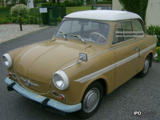 Trabant  P50 / 1, 90% original 1961 Vintage, Classic and Old Cars photo