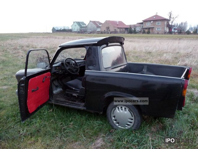 1990 Trabant  PICK-UP 1.1 Polo registered in Poland! Off-road Vehicle/Pickup Truck Used vehicle photo