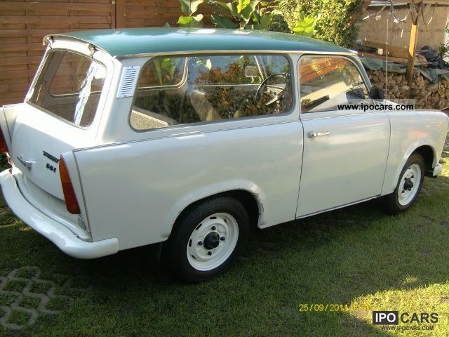 Trabant  Universal S cluster Oldimer original condition 1977 Vintage, Classic and Old Cars photo
