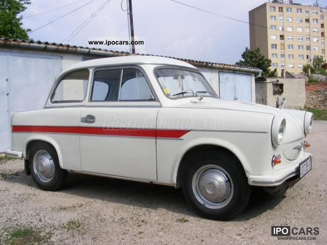 Trabant  oldteimer 1963 Vintage, Classic and Old Cars photo