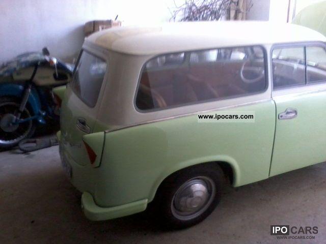 1961 trabant p 50 500 kombi car photo and specs. Black Bedroom Furniture Sets. Home Design Ideas