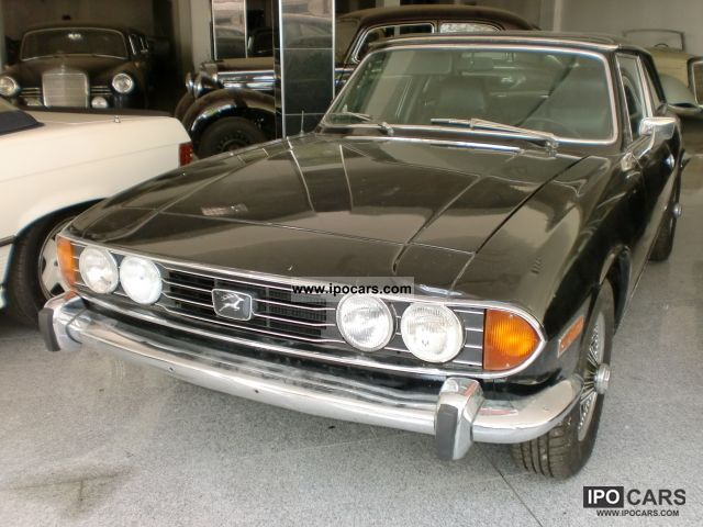 Triumph  Stag \ 1971 Vintage, Classic and Old Cars photo
