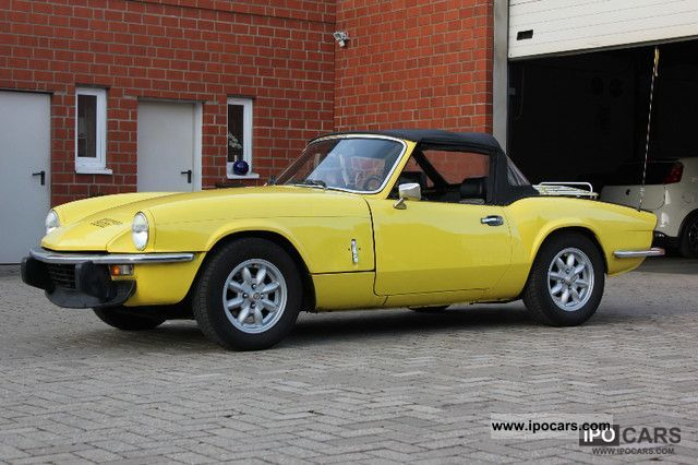 Triumph  Spitfire with sports exhaust 1975 Vintage, Classic and Old Cars photo