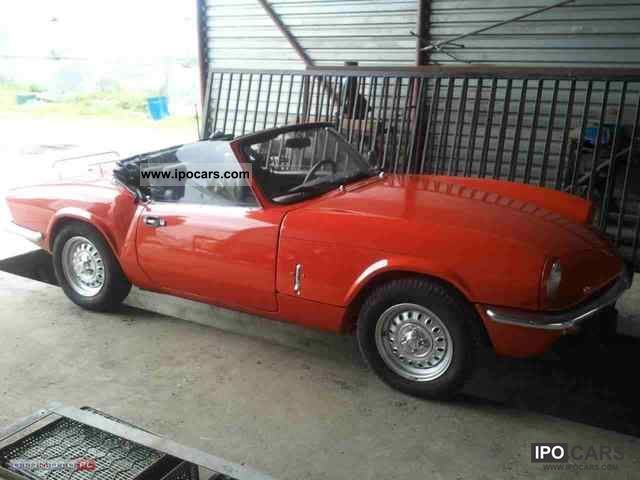 Triumph  Spitfire IV convertible, rok 1974 1974 Vintage, Classic and Old Cars photo