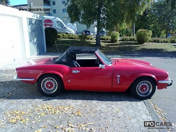 Triumph  Spitfire MK IV 1971 Vintage, Classic and Old Cars photo