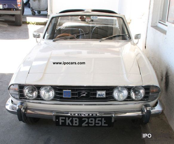 Triumph  Stag RHD 1972 Vintage, Classic and Old Cars photo