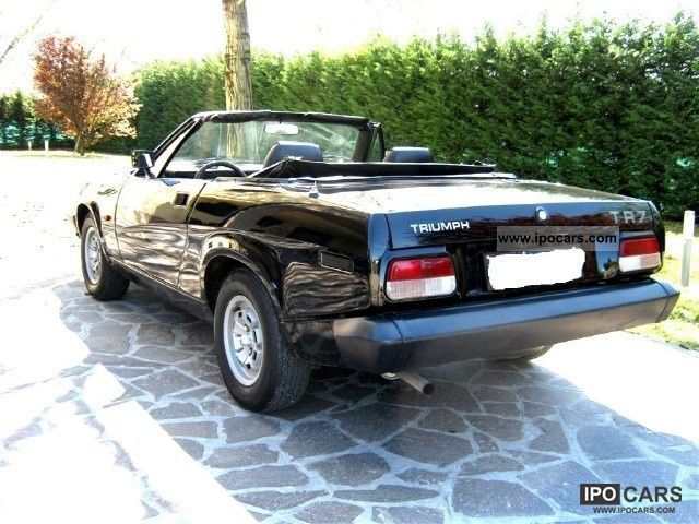 1980 Triumph  TR7 convertible Cabrio / roadster Used vehicle photo