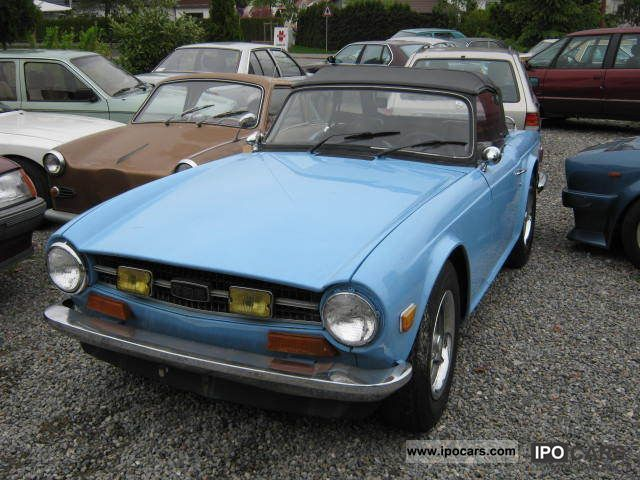 Triumph  TR6 carburettor 1974 Vintage, Classic and Old Cars photo