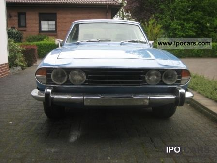 Triumph  STAG MKII 1974 Vintage, Classic and Old Cars photo