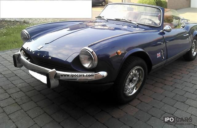 Triumph  Spitfire MK III 1969 Vintage, Classic and Old Cars photo