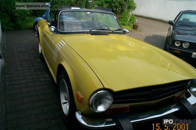 Triumph  TR6 1974 Vintage, Classic and Old Cars photo