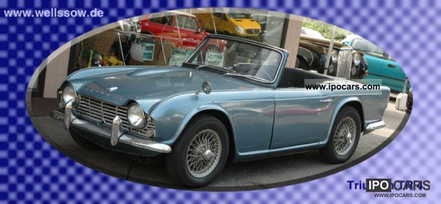 1963 Triumph  TR4 Cabrio / roadster Classic Vehicle photo