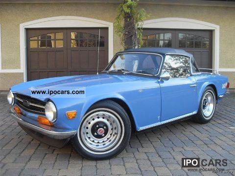 Triumph  TR6 1973 Vintage, Classic and Old Cars photo