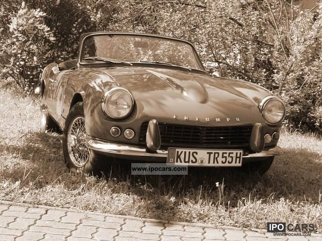 Triumph  Spitfire MK1 GT6 MK3 1967 Vintage, Classic and Old Cars photo