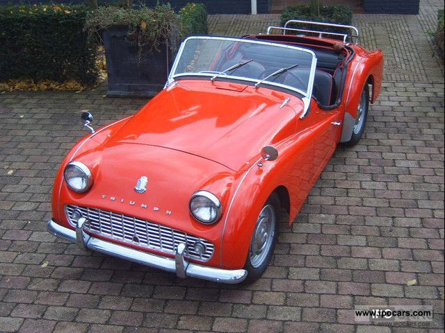 Triumph  TR3 A 1959 Vintage, Classic and Old Cars photo