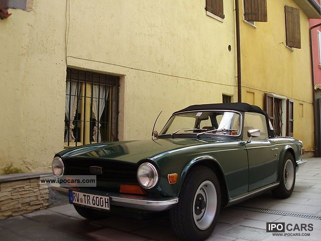 Triumph  TR6 1971 Vintage, Classic and Old Cars photo