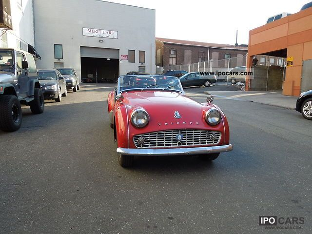 1963 Triumph Tr3b Matching Numbers Car Photo And Specs