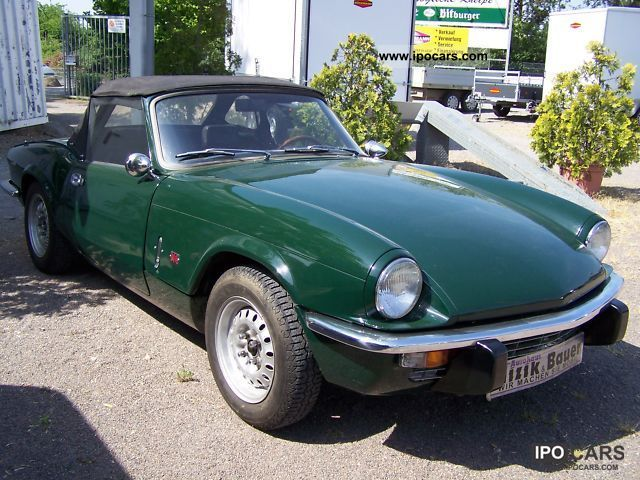 Triumph  Restored Spitfire H-plates 1973 Vintage, Classic and Old Cars photo