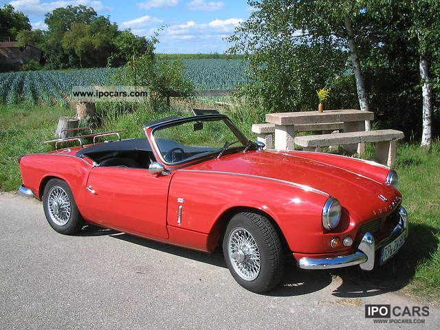 Triumph  Spitfire Mark I 4, wire wheels, overdrive 1964 Vintage, Classic and Old Cars photo