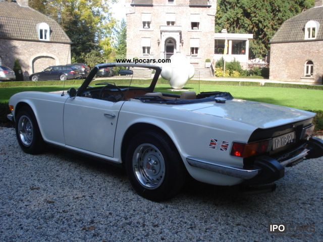 Triumph  TR6 2.5 Twin Carburator 1975 Vintage, Classic and Old Cars photo