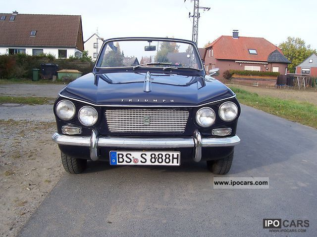 Triumph  Vitesse 1969 Vintage, Classic and Old Cars photo