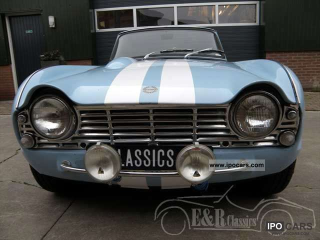 Triumph  from 1963 2200cc rally style good condition 1963 Vintage, Classic and Old Cars photo