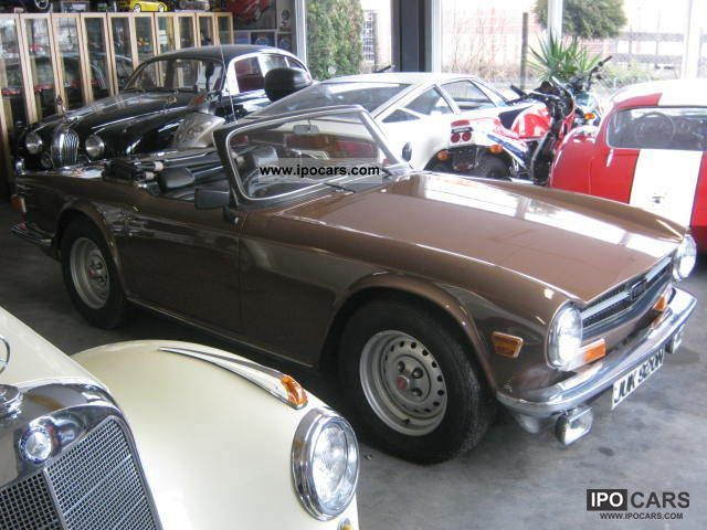 Triumph  TR6 PI RHD H-approval 1975 Vintage, Classic and Old Cars photo