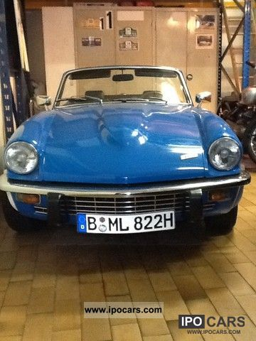 1972 Triumph  GT6 Cabrio / roadster Classic Vehicle photo