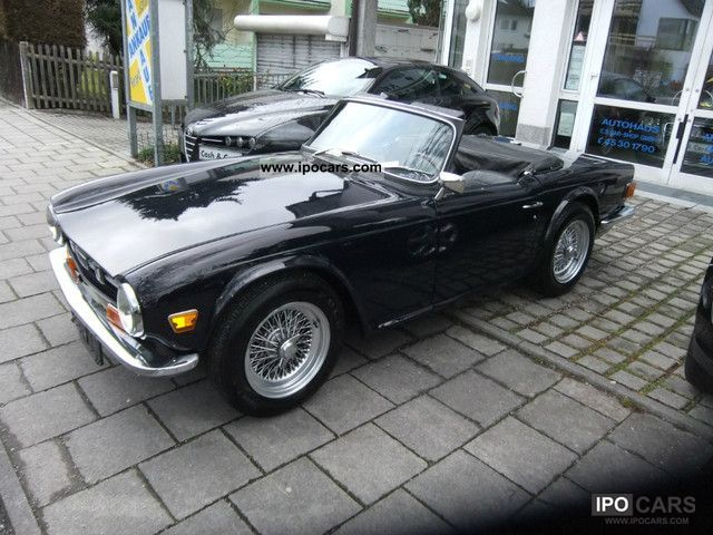Triumph  TR 6 PI LHD Injection 1969 Vintage, Classic and Old Cars photo