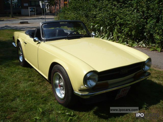 1972 Triumph  Carburetor, full leather, cloth top, H-approval Cabrio / roadster Used vehicle photo