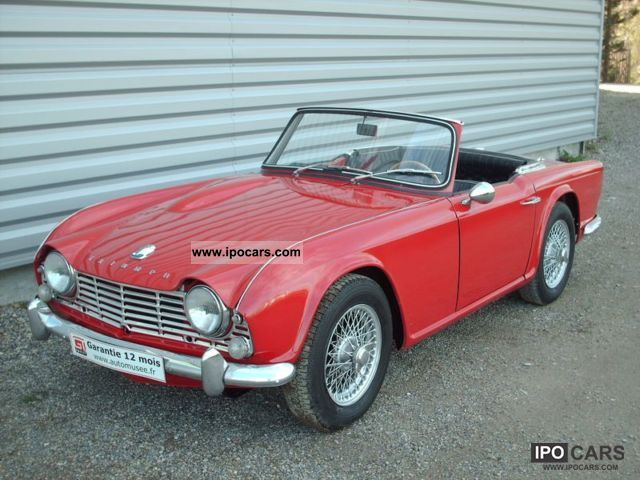 Triumph  TR4 1964 Vintage, Classic and Old Cars photo
