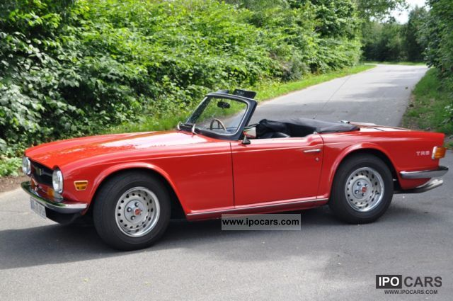 Triumph  TR6 PI (CP) 1970 Vintage, Classic and Old Cars photo