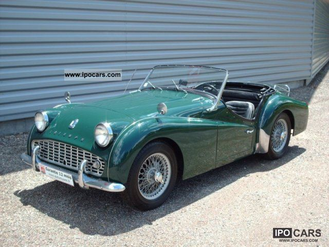 Triumph  TR3 A 1961 Vintage, Classic and Old Cars photo