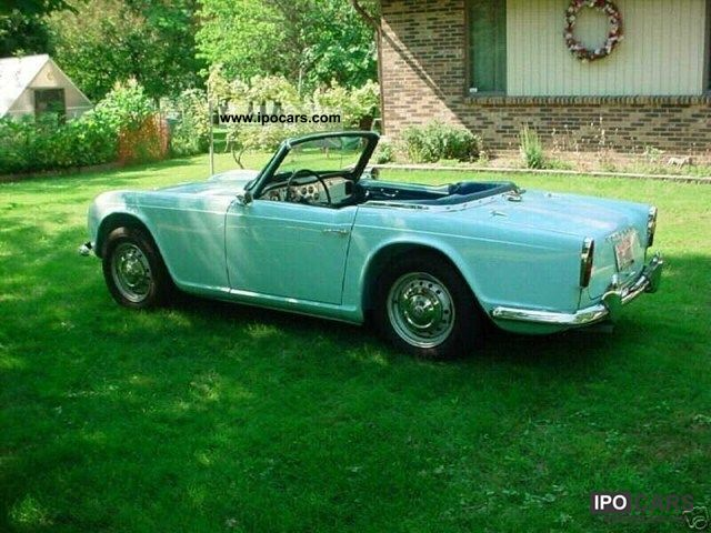Triumph  TR4 2.2 1962 Vintage, Classic and Old Cars photo