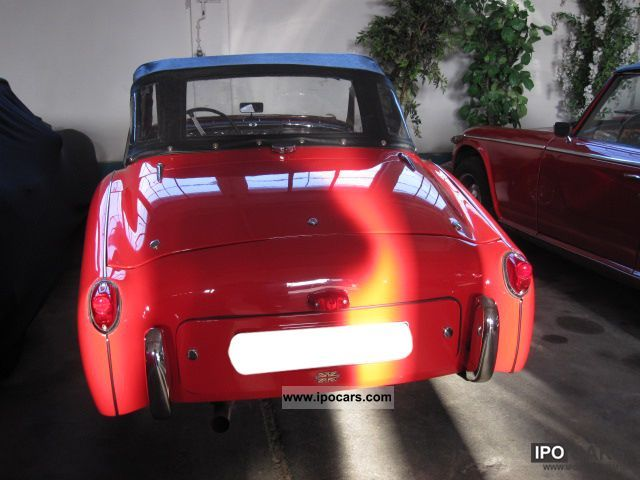 Car Brands Starting With L >> 1956 Triumph TR3 Small Mouth - Car Photo and Specs