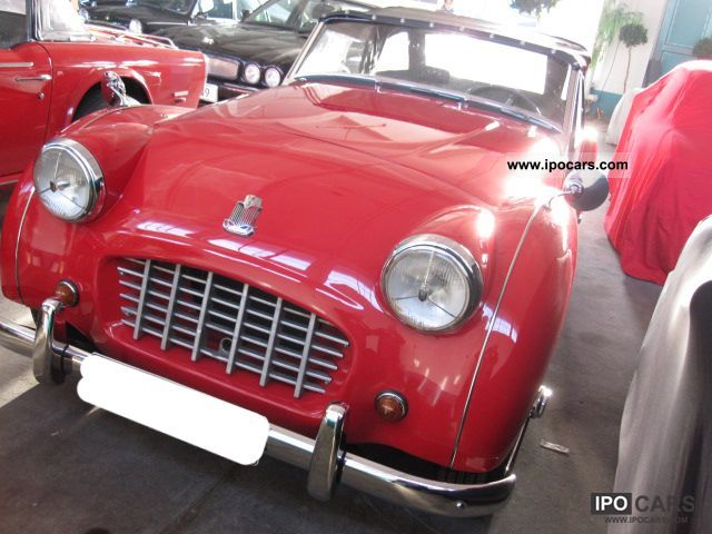 Triumph  TR3 Small Mouth 1956 Vintage, Classic and Old Cars photo
