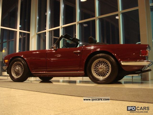 1969 Triumph TR6 Overdrive - Car Photo and Specs